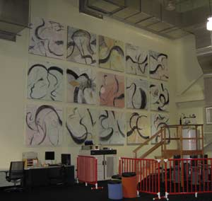 image of painting in NMR hall